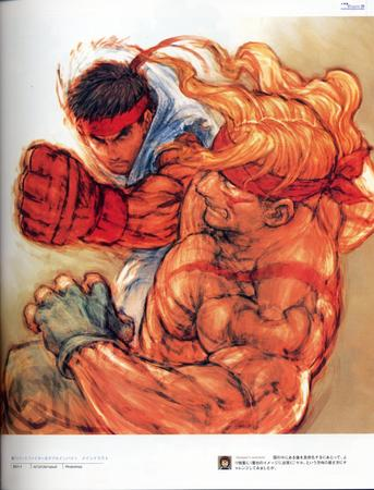 artbook blonde capcom gi gloves headband high_res ryu street_fighter // 2000x2626 // 852.5KB