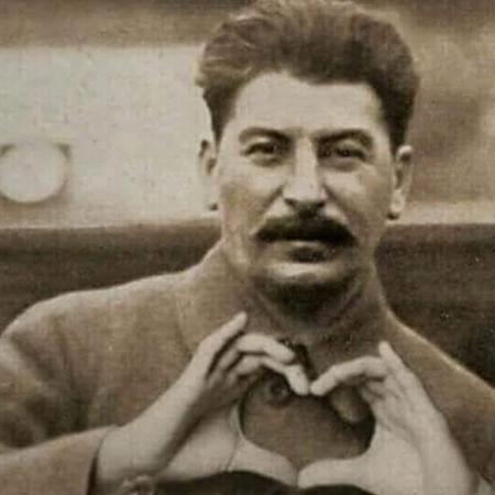 bae bw mustache photo stalin ussr // 682x682 // 197.4KB