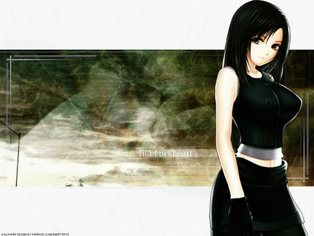 advent_children brunette ffvii final_fantasy gloves long_hair oppai tifa vest // 1024x768 // 222.1KB