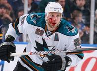 away_jersey blood hockey ryane_clowe san_jose sharks // 500x369 // 41.2KB