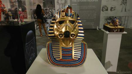 helmet king_tut museum photo star_wars stormtrooper // 920x518 // 60.9KB