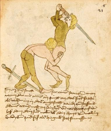 fenching medieval sword wrestling wtf // 550x650 // 93.2KB