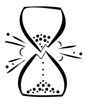 bw hourglass time_and_temps vector // 1684x2062 // 294.1KB