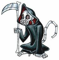 hood monkey robe scythe skeleton tail // 370x378 // 35.5KB