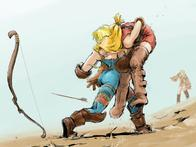 archer arrows blonde boots bow fft final_fantasy geomancer monk // 800x600 // 64.1KB