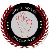 awesome internet seal // 350x350 // 76.2KB