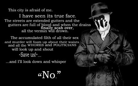 bw coat gloves hat mask no quote rorshach wallpaper watchmen // 1920x1200 // 218.1KB