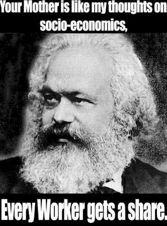 bw insult macro marx your_mom // 365x494 // 41.9KB