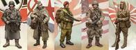 bayonet beret boots composite germany helmet japan rifle uniform united_kingdom usa ussr wwii // 1600x599 // 265.0KB