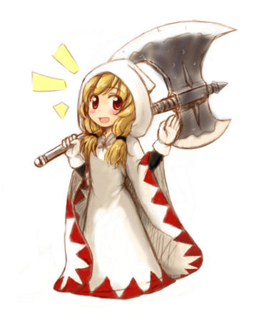 axe blonde fft final_fantasy gloves hood robe white_mage // 640x750 // 259.0KB
