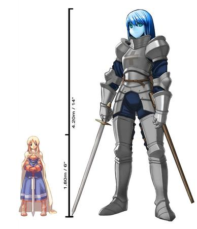 agrias armor blonde blue_eyes blue_hair boots cape dress fft final_fantasy giant sword // 983x1139 // 72.0KB