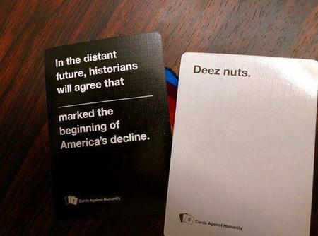 america card cards_against_humanity deez_nuts photo // 600x445 // 33.6KB