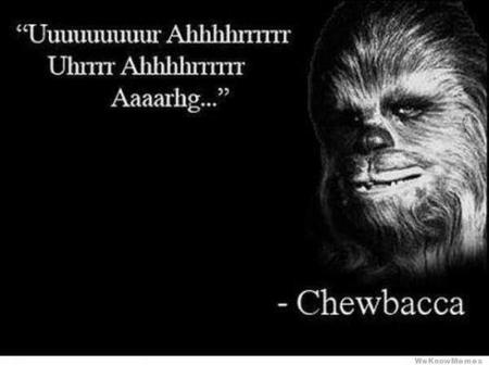 bw chewbacca motivational quote star_wars // 600x448 // 24.6KB