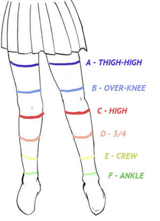 diagram short_skirt skirt socks thighhighs // 300x416 // 19.6KB
