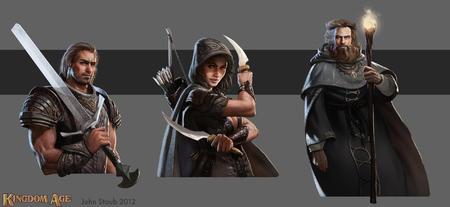 armor beard cleavage composite dagger fighter hood kingdom_age robe staff sword thief wizard // 1900x874 // 674.4KB
