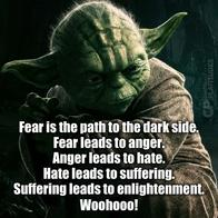 enlightenment macro quote star_wars suffering yoda // 800x800 // 124.8KB