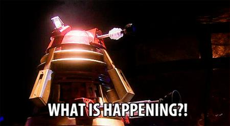 animated dalek dr_who macro reaction what // 500x275 // 862.9KB