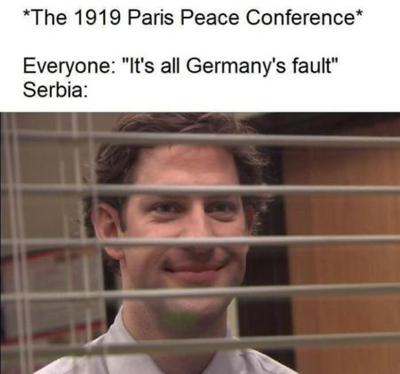 germany history humor paris serbia the_office wwi // 720x673 // 428.2KB