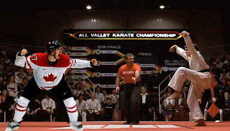 canada hockey humor karate karate_kid sidney_crosby // 525x300 // 57.7KB