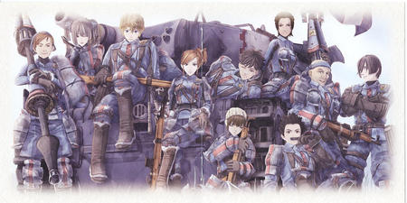 boots gloves gun lance rifle tank uniform valkyria_chronicles // 1417x708 // 403.1KB