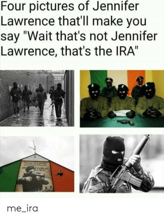 hat ira jennifer_lawrence mask political rifle run // 500x667 // 161.2KB