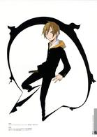 blonde durarara hood jacket school_uniform sweatshirt // 2100x2970 // 2.1MB
