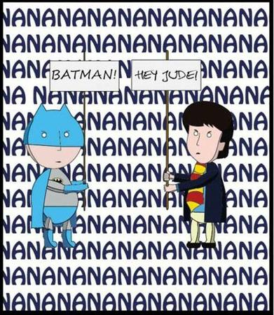 batman dc humor sign the_beatles // 500x575 // 76.4KB