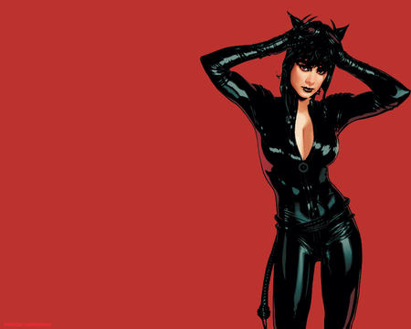 catgirl cleavage dc desktop gloves goggles grunette jumpsuit whip // 1280x1024 // 125.4KB