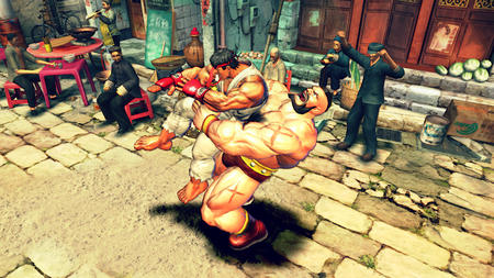 beard boots gi gloves headband mohawk ryu screenshot street_fighter zangief // 1280x720 // 1.6MB