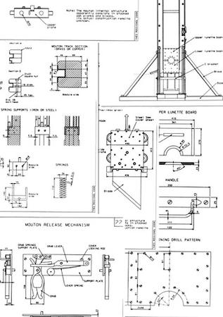bw guillotine schematic // 361x512 // 50.2KB