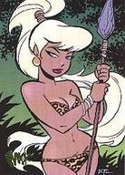 barbarian bare_shoulders blonde bruce_timm long_hair low_res ponytail sheena spear // 180x250 // 17.2KB