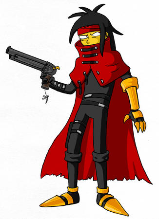 ffvii final_fantasy gloves groenig gun simpsons vincent // 693x956 // 397.2KB