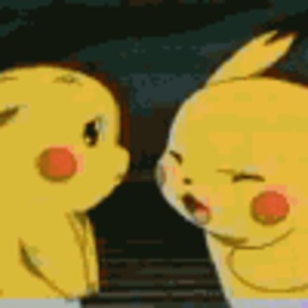 animated humor pikachu pokemon // 100x100 // 38.8KB