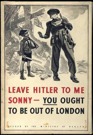 england helmet london propaganda rifle sword wwii // 600x869 // 80.1KB