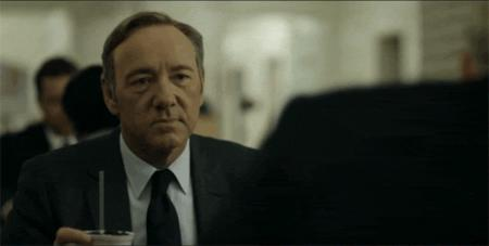 animated house_of_cards kevin_spacey necktie reaction screenshot suit // 500x252 // 985.3KB