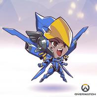 armor overwatch pharah super_deformed wings // 400x400 // 167.7KB