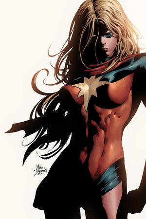 blonde high_res long_hair marvel mask ms_marvel scarf // 2800x4200 // 1.2MB