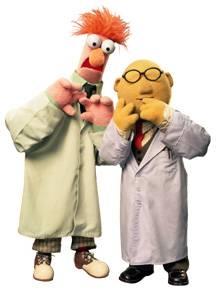 Beaker muppet png
