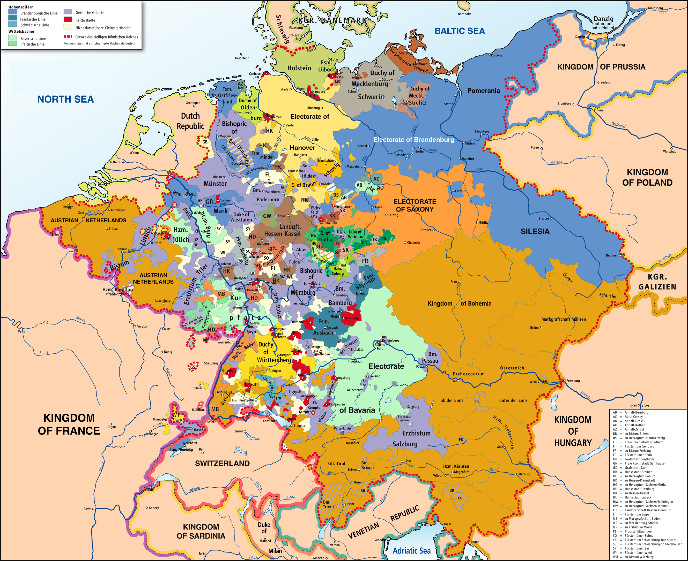 Germany Map Netherlands Switzerland - Netherlands germany map
