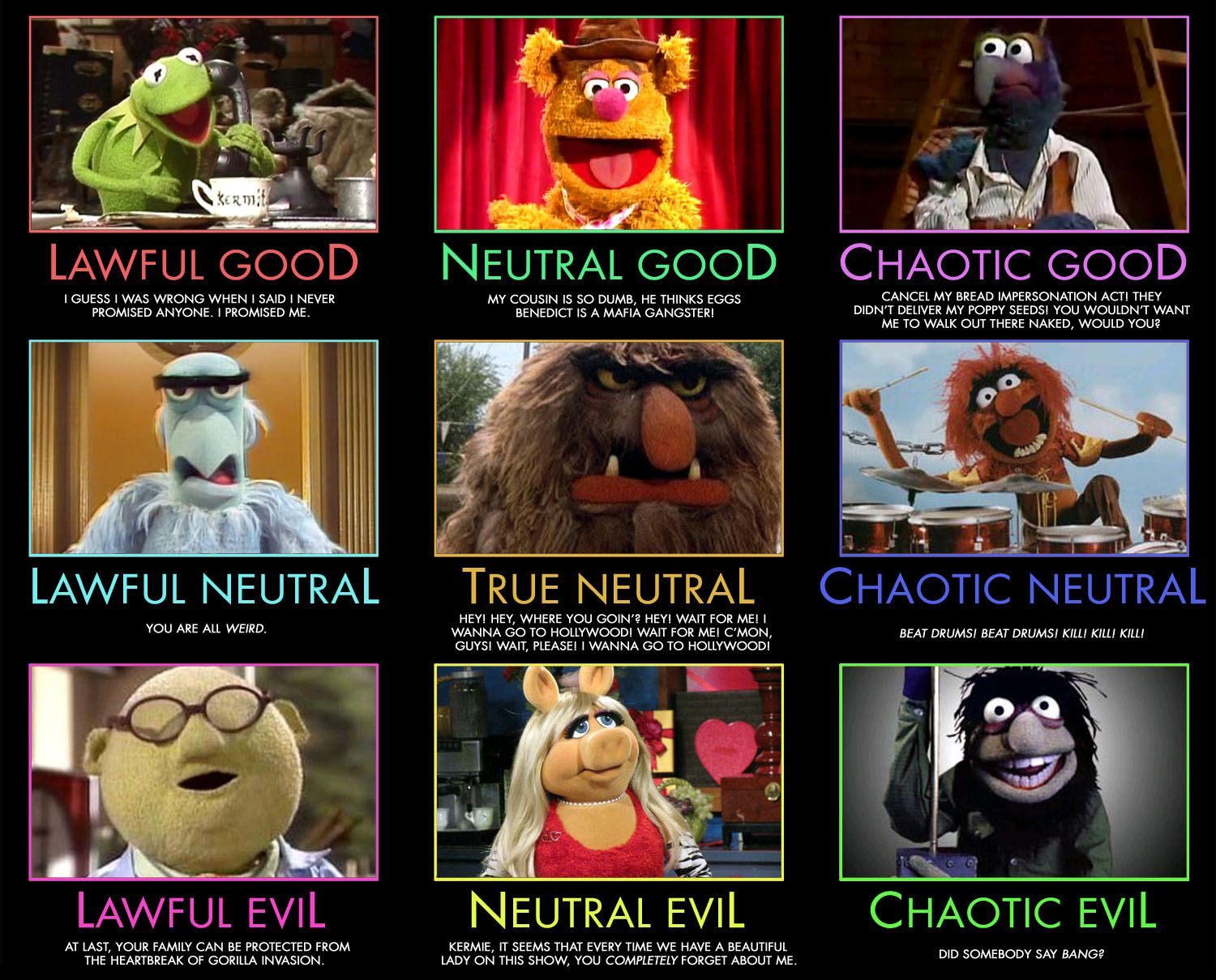 an analysis of the muppet show play