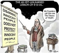 ben_franklin cartoon gun_control political // 496x449 // 65.0KB