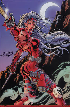gauntlets gray_hair gun long_hair sword wildcats zealot // 1024x1563 // 507.1KB