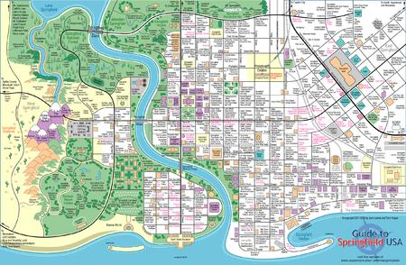 high_res map simpsons springfield // 2443x1594 // 685.4KB