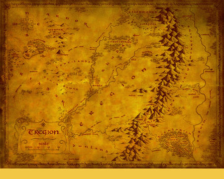 eregion high_res lotr map middle_earth // 1280x1024 // 1.7MB