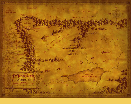 high_res lotr map middle_earth mordor // 1280x1024 // 1.6MB
