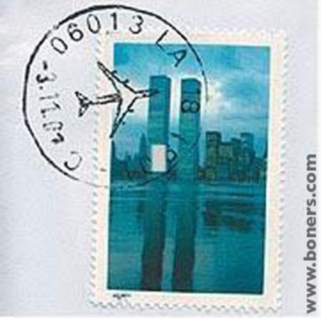 911 humor im_going_to_hell postage stamp wtc // 317x315 // 24.3KB