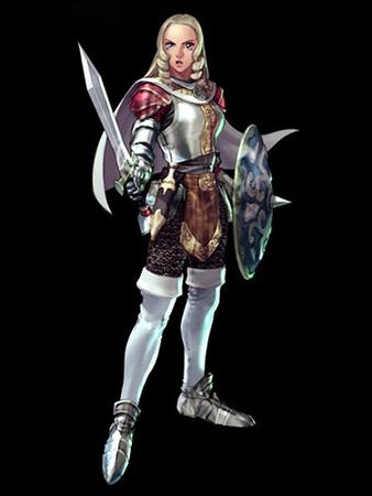 armor blonde gauntlets shield soul_calibur sword // 375x500 // 35.8KB