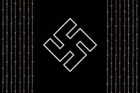 barbwire bw desktop germany logo nazi political swastika // 1177x781 // 108.8KB