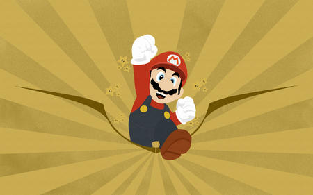 gloves high_res mario mustache soviet // 1680x1050 // 1.0MB