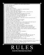 4chan internet motivational rules // 600x750 // 115.8KB